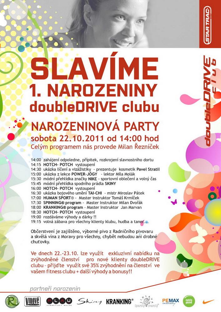 Program narozeninové párty 22.10.2011