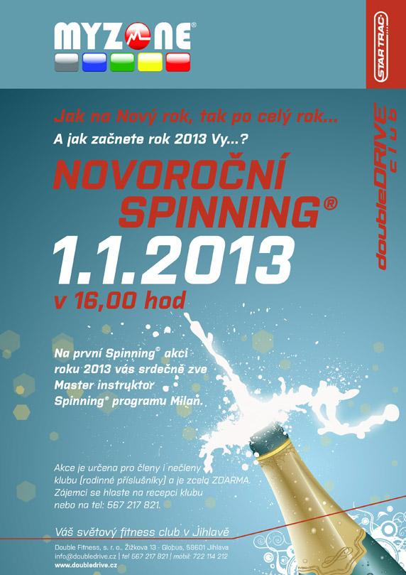 novoroční spinning