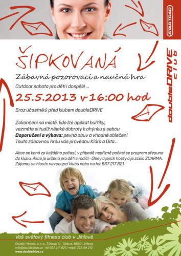 Šipkovaná - outdoor sobota pro děti a rodiče - 25.5.