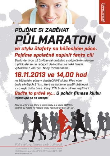 Pojďte si zaběhat půlmaraton