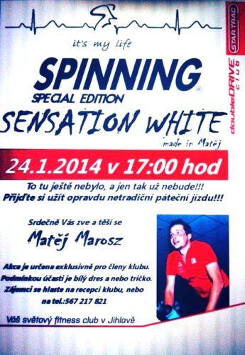 sensation white doubledrive
