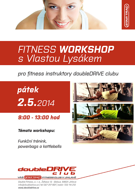 workshop s Vlastou Lysákem doubledrive club