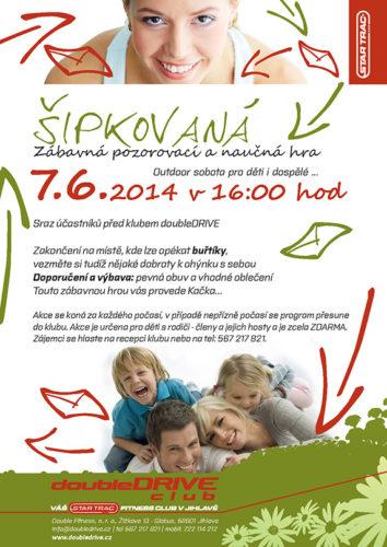 Šipkovaná - outdoor sobota pro děti a rodiče