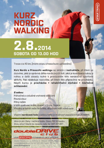 nordic walking fitness jihlava