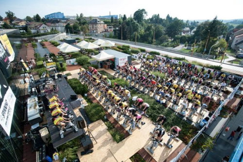Open Air Spinning Jihlava fitness doubledrive club