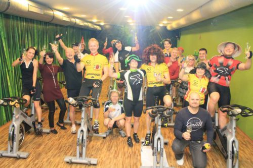 Silvestrovký Spinning® a party – 31.12.2014