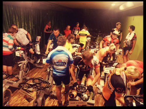 12 hodin Spinning® maraton 2015