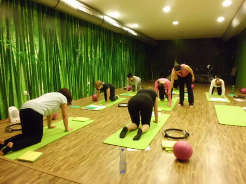 Workshop Pilates s Klárou – 2. 4. 2016