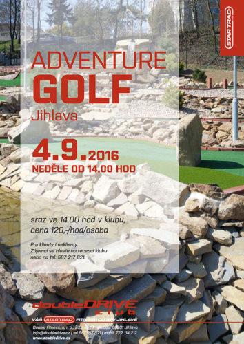 Golf s fitness doubleDRIVE Jihlava