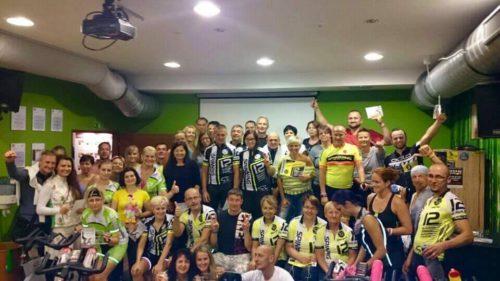 12 hodin Spinning® maraton 2016 fitness jihlava