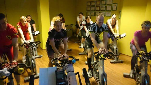 Vánoční Spinning® fitness klub doubledrive jihlava