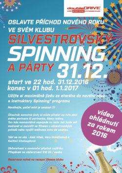 FOTOGALERIE – Silvestrovký Spinning® a party – 31.12.2016
