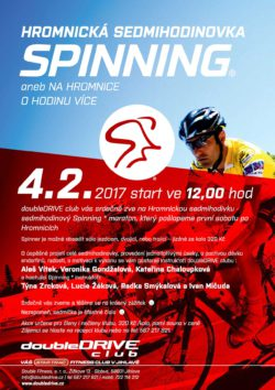 Hromnická sedmihodinovka Spinning - Fitness doubleDRIVE club Jihlava