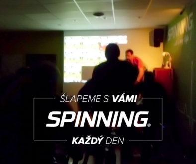 Šlapeme s vámi Spinning ® každý den