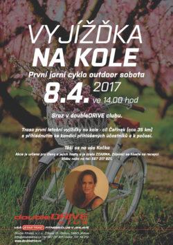 První jarní cyklo outdoor sobota - 8. 4. 2017