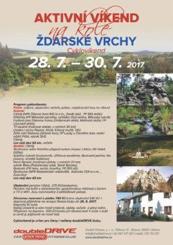 ŽDÁRSKÉ VRCHY - Cyklovíkend 14.-16. 7. 2017