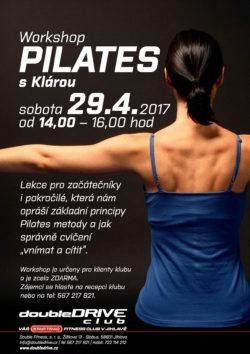 Wokshop Pilates s Klárou - 29. 4. 2017