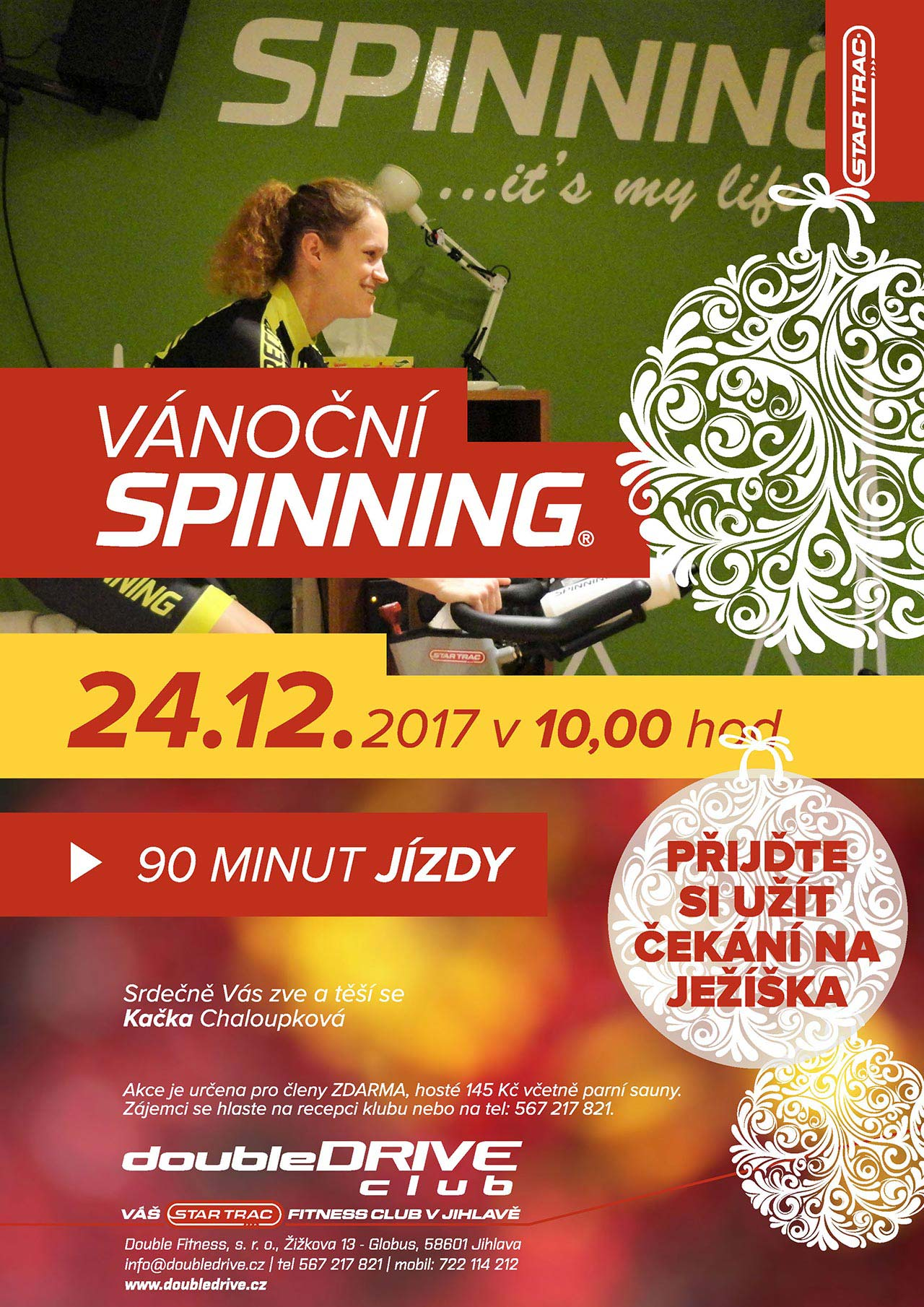 doubledrive fitness jihlava spinning
