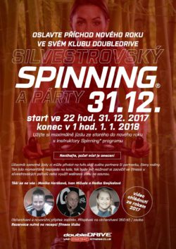 Silvestrovký Spinning® a party - 31. 12. 2017