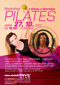 Workshop Pilates - 27. 10. 2017