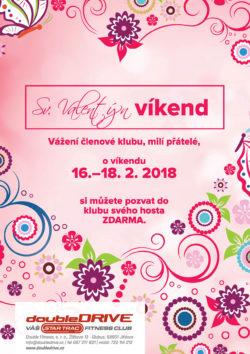 Sv. Valentýn víkend 16.-18. 2. 2018
