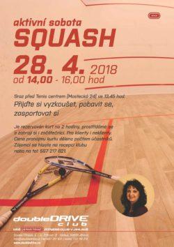 Aktivní sobota - squash - 28. 4. 2018