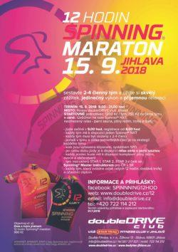 12 hodin Spinning® maraton 2018