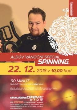 Aldův Vánoční speciál Spinning® - 22. 12. 2018