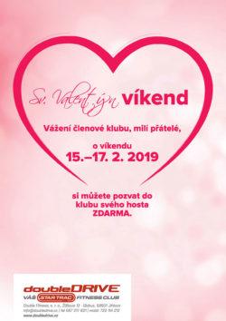 Sv. Valentýn víkend 15.-17. 2. 2019