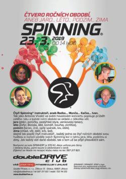 Čtvero ročních období Spinning® - 23. 3. 2019
