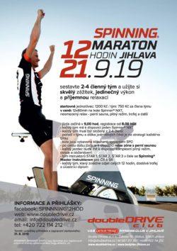 12 hodin Spinning® maraton 2019