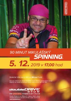 Mikulášský Spinning® maraton - 5. 12. 2019