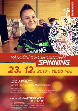 Vánoční dvouhodinovka Spinning® - 23. 12. 2019