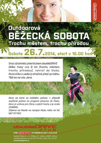 Outdoor běžecká sobota Jihlava