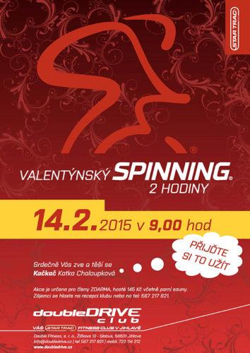 Valentýnský Spinning® - 2 hodiny