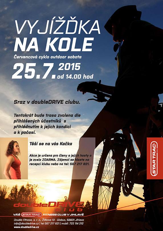 Červencová pohodová vyjíždka na kole