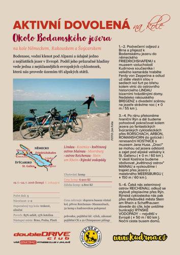 Okolo bodamského jezera - léto 2016