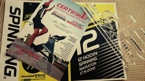 12 hodin Spinning® maraton 2016