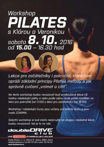 Pilates s fitness klubem doubleDRIVE Jihlava