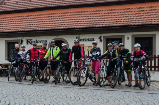 FOTOGALERIE - Křivoklát, Karlštejn, Žebrák - Cyklovíkend 22.-24. 6. 2018