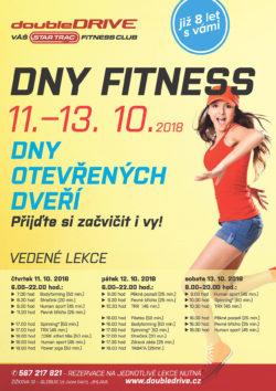 Dny fitness s doubleDRIVE klubem 11.-13. 10. 2018