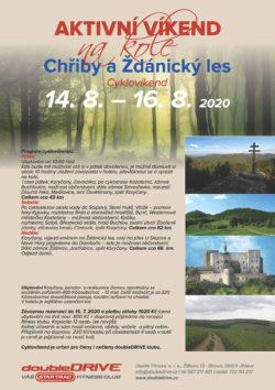 Chřiby a Ždánický les - Cyklovíkend 14. 8. – 16. 8. 2020