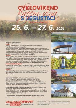 Cyklovíkend krajem vína s degustací 16. 4. – 18. 4. 2021