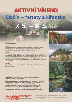 Děčín – ferraty a Hřensko 7. 5. – 9. 5. 2021