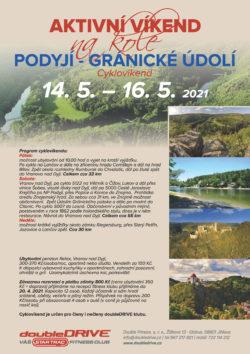 Cyklovíkend Podyjí - Gránické údolí 14. 5. – 16. 5. 2021