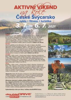 Cyklovíkend České Švýcarsko 3. 7. – 6. 7. 2021