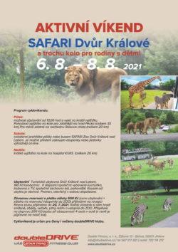 SAFARI Dvůr Králové – aktivní víkend 6. 8. – 8. 8. 2021