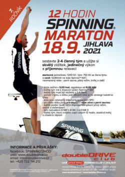 12 hodin Spinning® maraton 2021